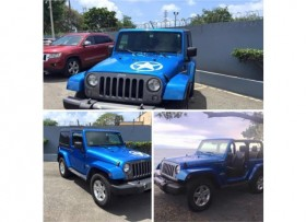 JEEP WRANGLER OSCAR MIKE EDITION AÑO 2014