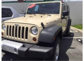 JEEP WRANGLER RUBICON 2011