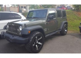 JEEP WRANGLER SPORT UNLIMITED -2015