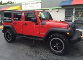 JEEP WRANGLER SPORT UNLIMITED -4X4 -2012