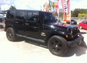 JEEP WRANGLER SPORT UNLIMITED 2011