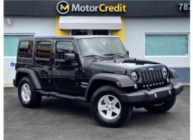 JEEP WRANGLER UNLIMITED SOPORT 2016