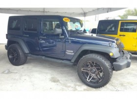 JEEP WRANGLER UNLIMITED SPORT 4X4 2013