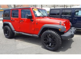 JEEP WRANLGER 2016 UNLIMITED SPORT 4X4