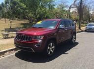 Jeep Grand Cherokee 2016 limited recien importada