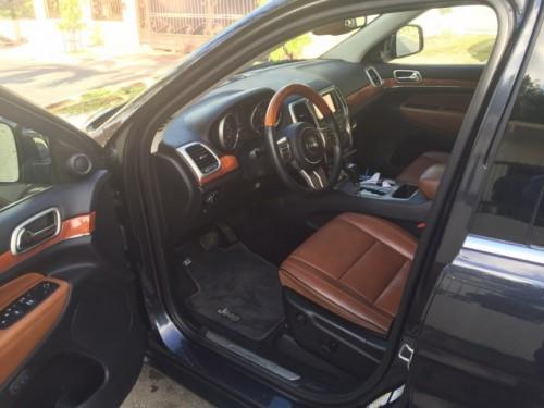Jeep Grand Cherokee Overland 2013 como Nueva!!