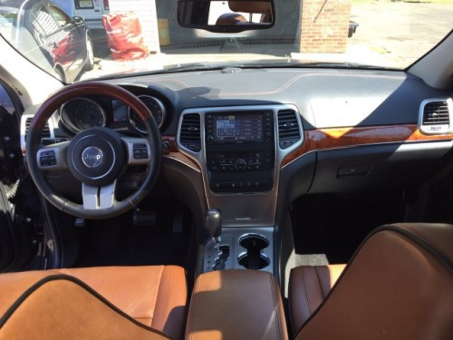 Jeep Grand Cherokee Overlander 2012