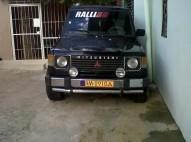 Jeep Mitsubishi Montero 84 Negro 2 puertas