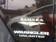 Jeep Wrangler Sahara Unlimite 2007
