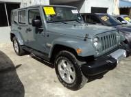 Jeep Wrangler Sahara Unlimite 2014