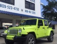 Jeep Wrangler Sahara Unlimite 2016