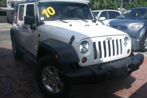 Jeep Wrangler Unlimite 2010