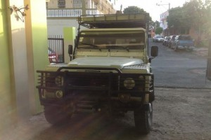 Jeep land rover defender 1996