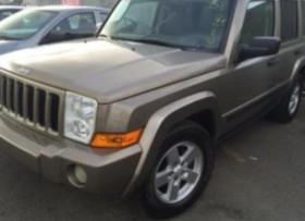 Jeep Commander 2006 Champagne