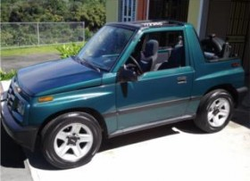 Jeep Geo Tracker Suzuky1996Super lindo