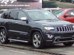 Jeep Grand Cherokee Overland 2015 Gris 4x4 Panoramic