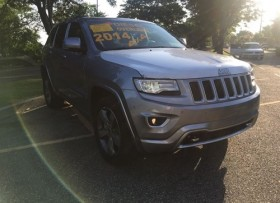 Jeep Grand Cherokee Overland Summit 2014
