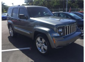 Jeep Liberty 2012 the jet limited Gris Piel