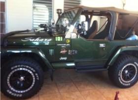 Jeep Sahara 40 equipado y muchos accesorios
