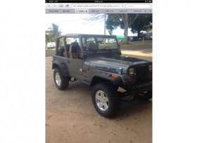 Jeep Wrangler 1990 6 cil