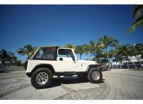Jeep Wrangler 1994 4x4 Blanco