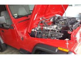 Jeep Wrangler 1994 Restaurado Rojo