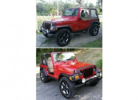 Jeep Wrangler 2001 poco millaje