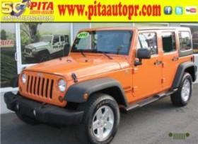 Jeep Wrangler 2013 SPORT EL MEJOR COLOR