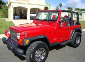 Jeep Wrangler 4cil std ac 8900