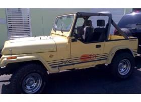 Jeep Wrangler Islander edition