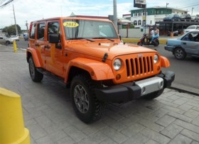 Jeep Wrangler Sahara Unlimite 2012