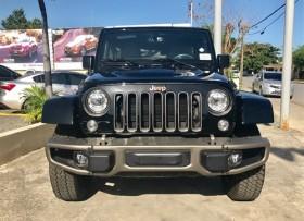 Jeep Wrangler Sahara Unlimite 2017