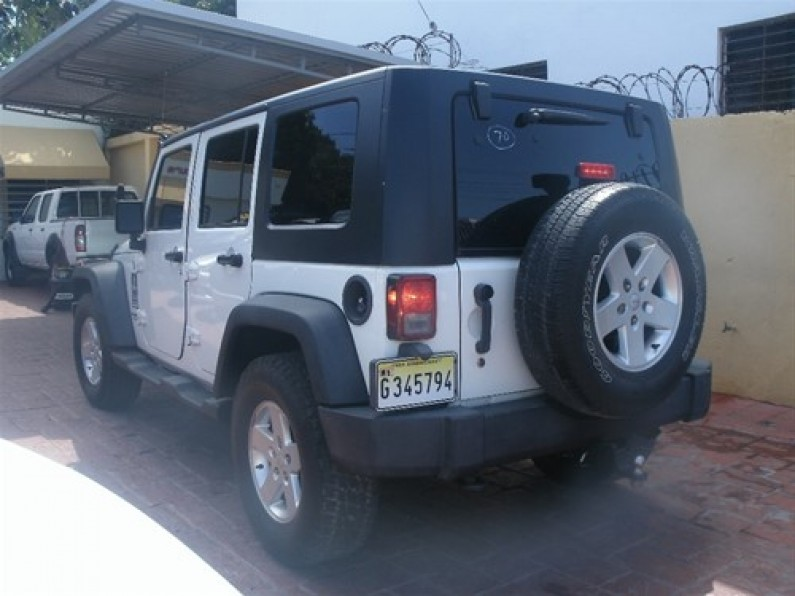 Jeep Wrangler Unlimite 2010