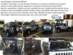 Jeep Wrangler Unlimited RUBICON 2007