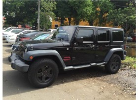 Jeep Wrangler Unlimited Sport 2012 Negro