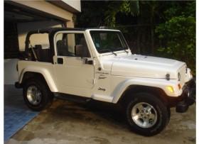 Jeep Wranglerblancoautomâtico 6 cilindros