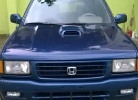 Jeep honda 1995 passport azul diesel full