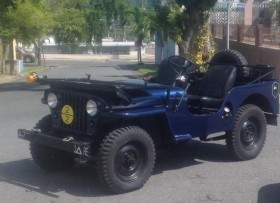 Jeep willys 63 4 cilindro