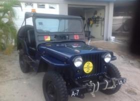 Jeep willys estilo militar
