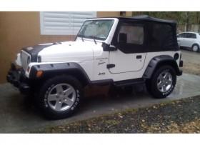 Jeep wrangler 2001 std 6cilindro