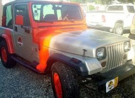 Jeep wrangler 96 edicion jurassic park