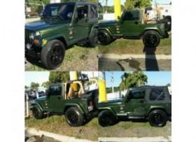 Jeep wrangler sahara 98 std 4x4 ac