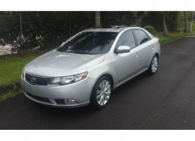 KIA FORTE SX 2011 PIEL SUNROOFPADDLE SHIFT