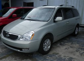 KIA SEDONA LX 2014 COLOR GRIS
