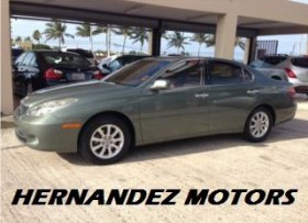 LEXUS ES 330 PIEL SUNROOFPERFECTAS CONDS