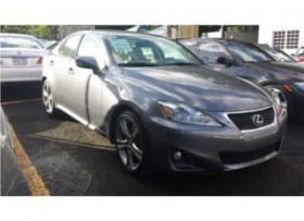 LEXUS IS-250 SPORT EDITION -22K MILLAS