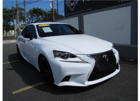 LEXUS IS250 F-SPORT CRAFTED LINE 2015