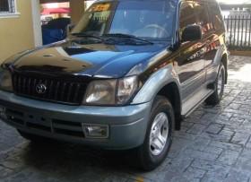 Land Cruiser Prado 2000 Negra