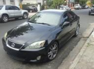 Lexus is 250 2007 color negro