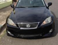 Lexus is 250 2007 negro